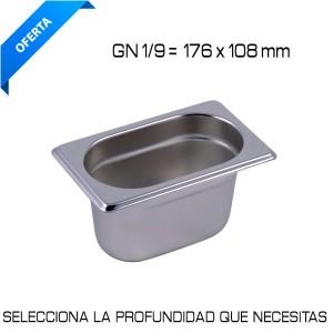 Cubeta Gastronom GN 1/9
