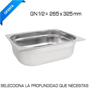 Cubeta Gastronorm GN 1/2