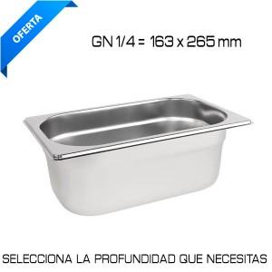 Cubeta Gastronorm GN 1/4