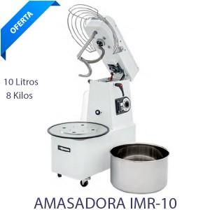 Amasadora Cabezal movil 10 lts