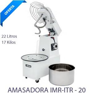 Amasadora Cabezal movil 21 lts