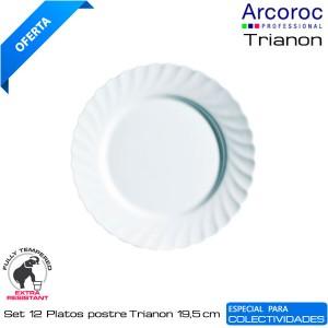 Plato Postre Trianon