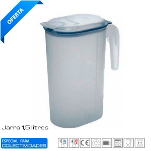 Jarra Hermética 1,5 Lts