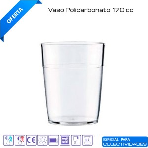 Vasos policarbonato 170cc