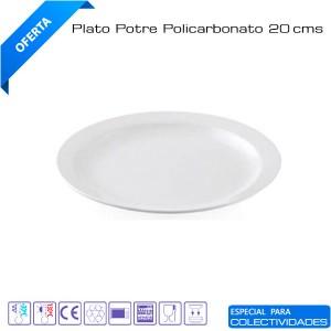 Plato postre cadette policarbonato