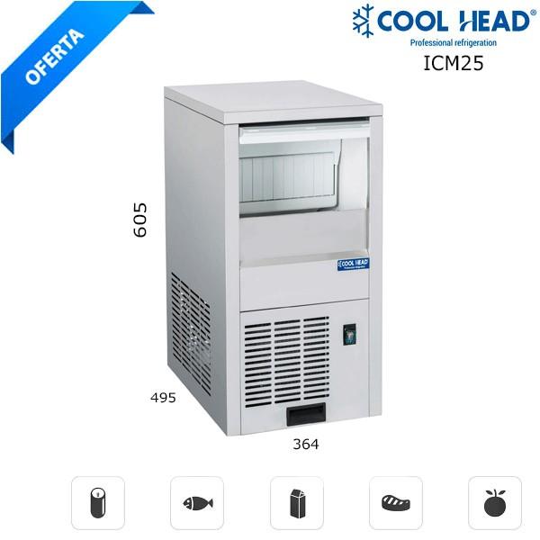 Maquina fabricadora de hielos ICM25