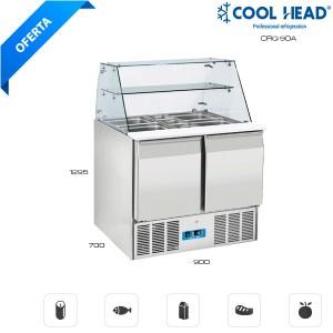 Mesa fría conservación para ensaladas 90A