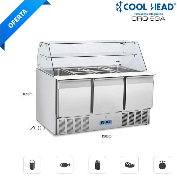 Frente Mostrador refrigerado Infrico 1500
