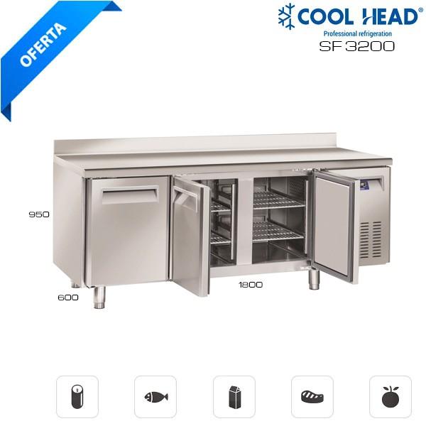 Mesa fría congelación SF 3200 Hostelería