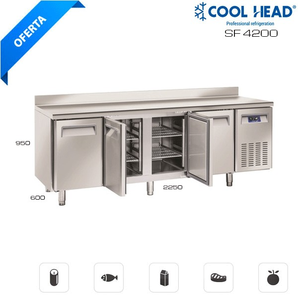 Mesa fría congelación SF 4200 Hostelería