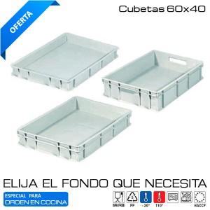 Caja Euronorma Cerrada 60x40 cms