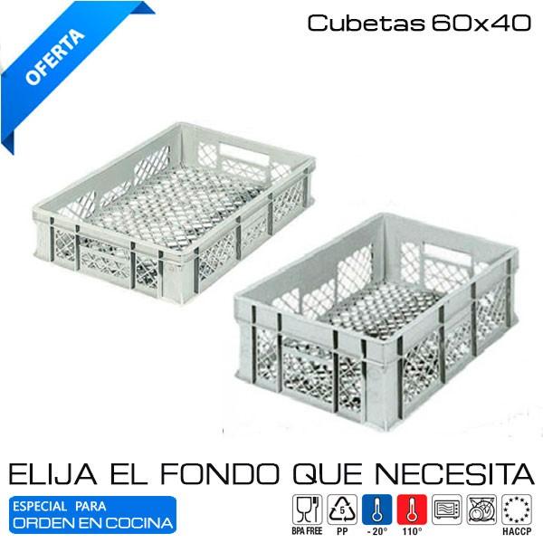 Caja Euronorma rejilla 60x40 cms
