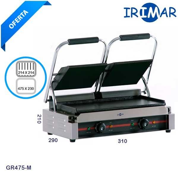 Grill doble Irimar