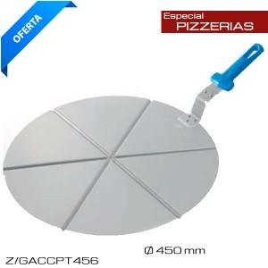 Bandeja para pizza en porciones