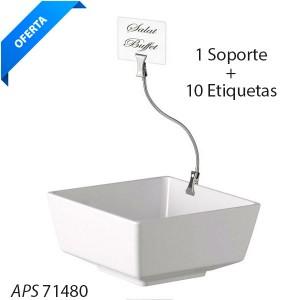 Soporte + 10 etiquetas
