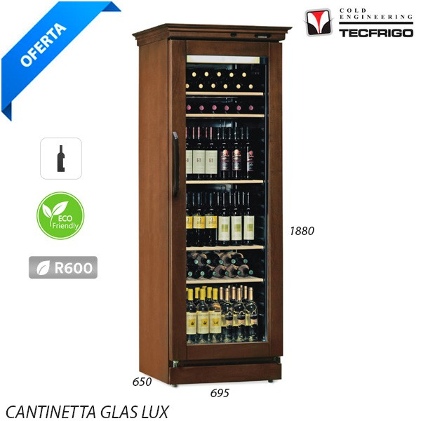 Armario Expositor vinos glass lux