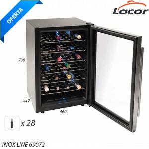 Expositor refrigerador de vinos 28 b