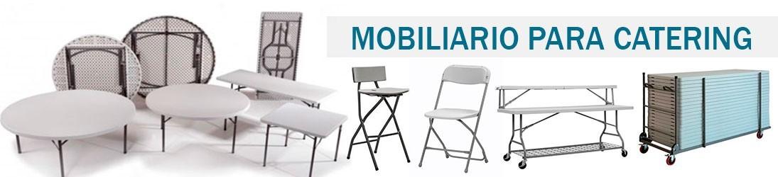 Si necesitas comprar mobiliario para catering como mesas o sillas, aprovecha el 35% de Descuento!!