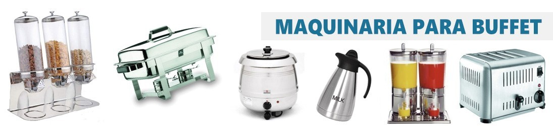 Equipamiento Selfservice - Maquinaria Buffet