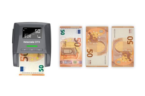 Detector de billetes